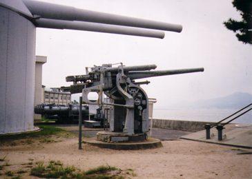 江田島海軍兵學校・機関砲